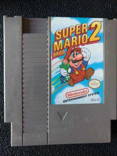 Super Mario 2 Nintendo Nes Videojuego Cartucho