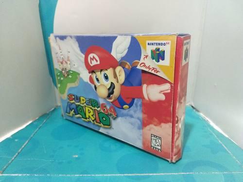 Super Mario 64 Completo En Caja, Envio Gratis