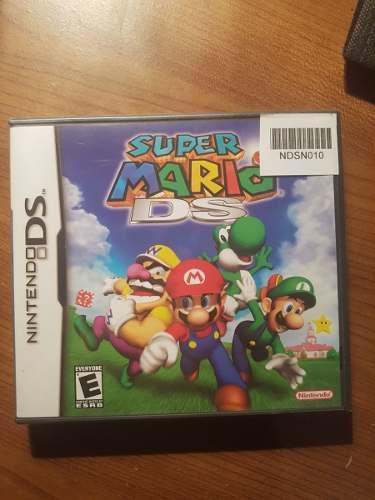 Super Mario 64 Ds Nuevo Sellado En Caja