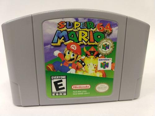 Super Mario 64 Nintendo 64 Como Nuevo Original Garantizado!