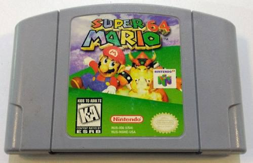 Super Mario 64 Nintendo 64 N64 Cartucho Retromex Tcvg