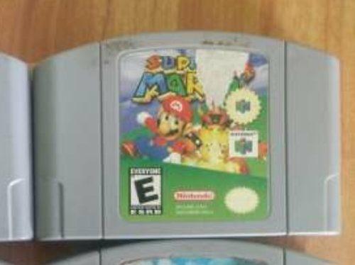 Super Mario 64 Videojuego Cartucho Original