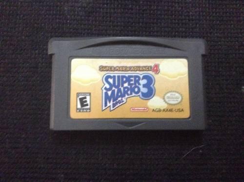 Super Mario Advance 4 P/gba-gameboy Advance, 100% Funcional.
