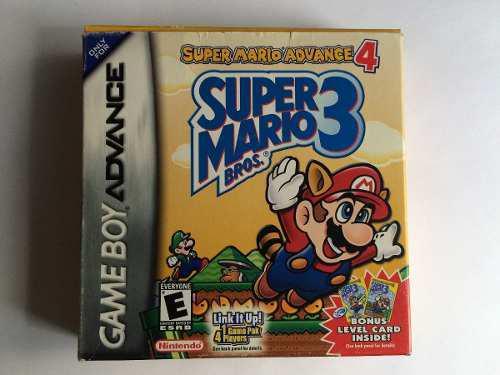 Super Mario Advance 4 (super Mario Bros 3) Gba Nintendo