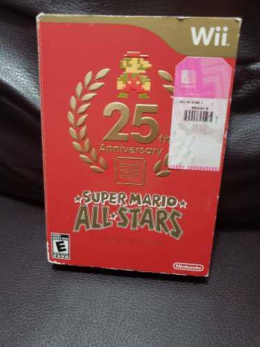 Super Mario All Stars 25 Anniversary Wii