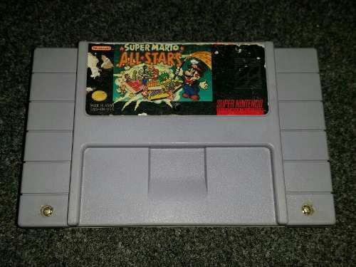 Super Mario All Stars Para Super Nintendo Snes Nintendo Jpcv