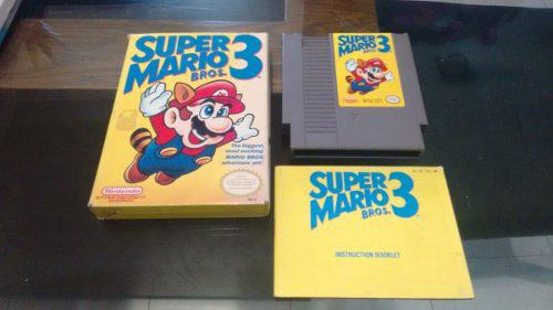 Super Mario Bros 3 Completo Caja E Instructivo Nintendo Nes