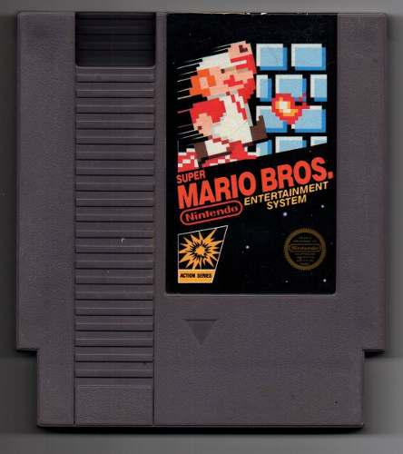 Super Mario Bros Nes (original) Envio Gratis!