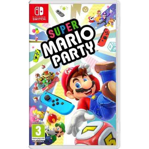Super Mario Party Nintendo Switch Nuevo Y Sellado