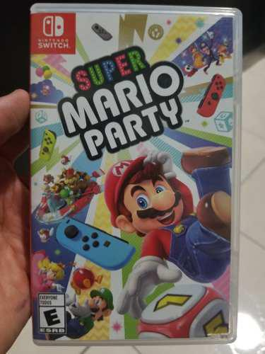 Super Mario Party Nintendo Switch Seminuevo Impecable