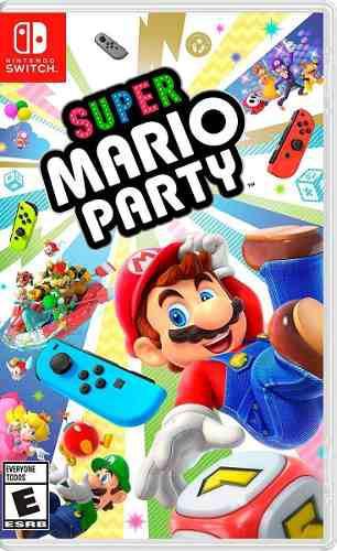 Super Mario Party Para Switch Nuevo Y Sellado.