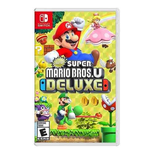 Super Mario U Deluxe. Nintendo Switch. Listo Para Enviarlo.