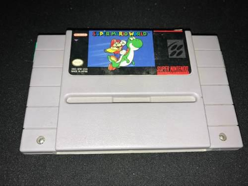 Super Mario World Snes Super Nintendo Cartucho