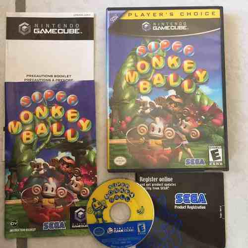 Super Monkey Ball Juegazo Completo Para Tu Gamecube