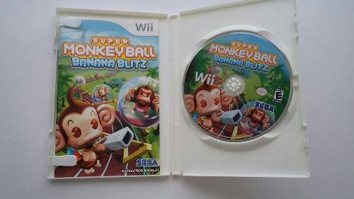 Super Monkey Ball Nintendo Wii