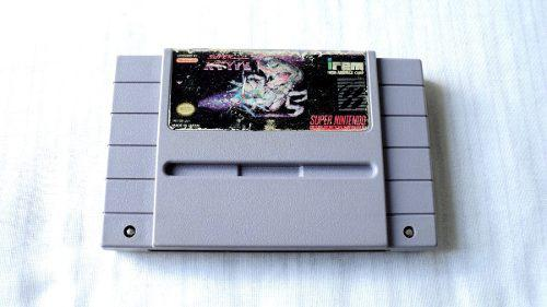 Super R Type Cartucho Para Super Nintendo Snes 1991 Irem