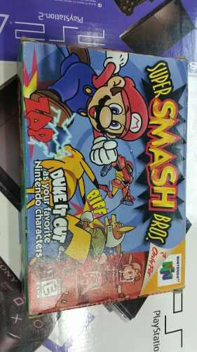 Super Samsh Bros Para Nintendo 64