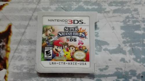 Super Smash Bros 3ds Solo Tarjeta Para Nintendo 3ds,checala