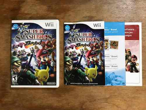 Super Smash Bros Brawl Completo Para Nintendo Wii