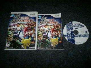 Super Smash Bros Brawl Sin Instructivo Para Nintendo Wii