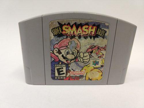 Super Smash Bros N64 Nintendo 64 Original Garantizado!