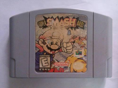Super Smash Bros Nintendo 64 N64 Mario Pikachu