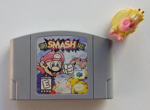 Super Smash Bros Nintendo N64 Excelente!! Garantizado:)