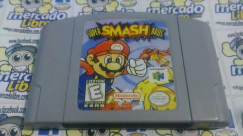Super Smash Bros Para N64 (Envio Gratis)