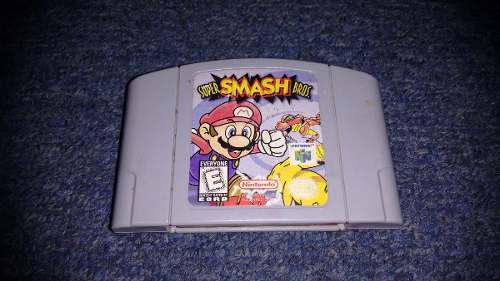 Super Smash Bros Para Nintendo 64,excelente Titulo,checalo