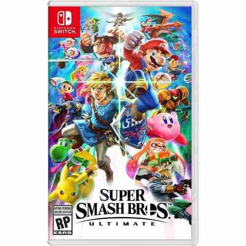 Super Smash Bros Ultimate Switch Nuevo ¡ Envío Inmediato!