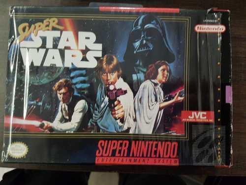 Super Star Wars Snes Super Nintendo Completo En Caja