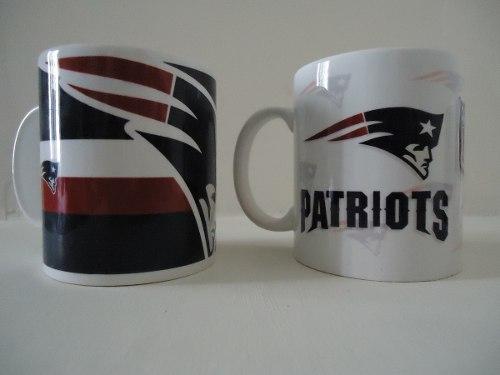 Tazas Nfl, Patriotas New England, Varios Equipos Disponibles
