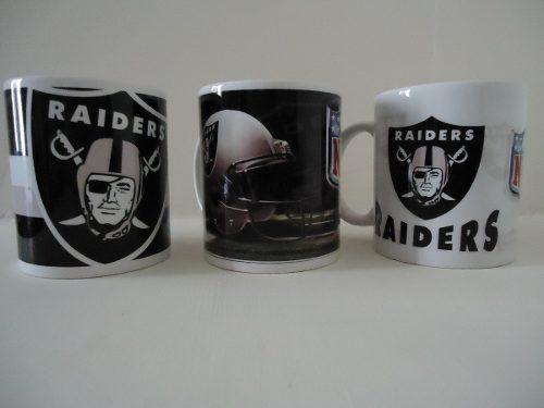 Tazas Nfl, Raiders De Oakland, Varios Equipos Disponibles.