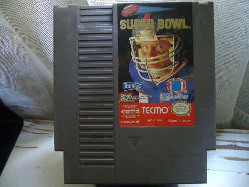 Tecmo Super Bowl Nintendo Nes Cartucho Suelto Juego