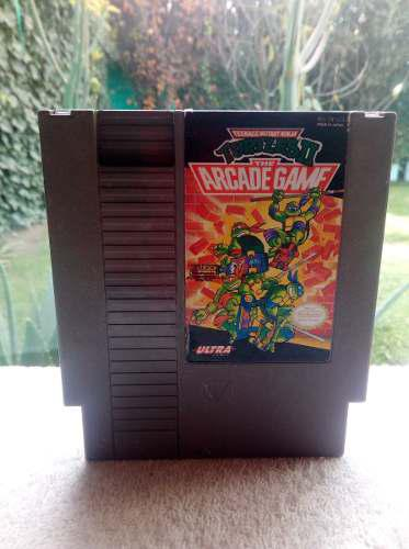 Teenage Mutant Ninja Turtles 2 Tortugas Ninja Nintendo Nes