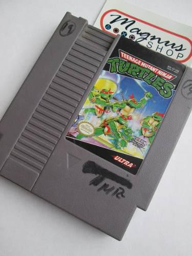 Teenage Mutant Ninja Turtles Tmnt Para Nintendo Nes Clasico