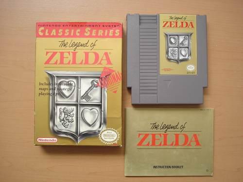 The Legend Of Zelda Para Nintendo Nes Completo Rtg +++++