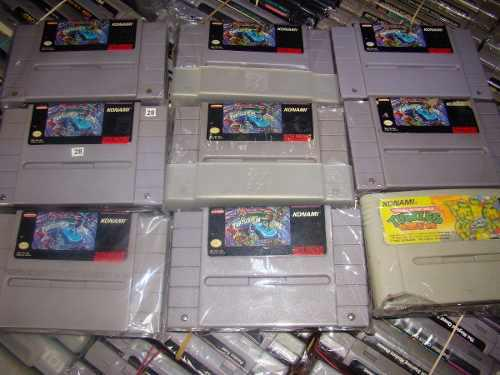 Tortugas 4 Snes Teenage Mutant Ninja Turtles: Turtles In Tim