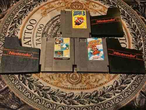 Trilogía De Juegos Para La Nintendo Nes Super Mario Bros