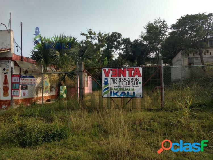 Venta Terreno Carretera a Tampico Tuxpan Veracruz,
