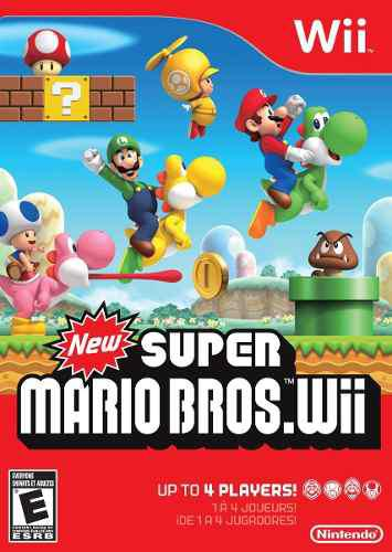 Videojuego New Super Mario Bros, Nintendo Wii