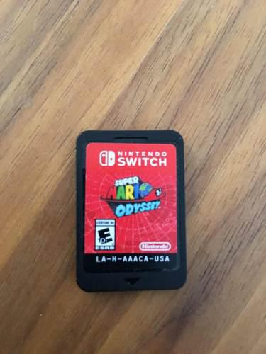 Videojuego Super Mario Odyssey Nintendo Switch Usado