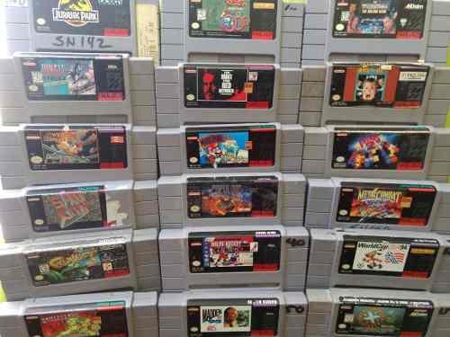 Videojuegos Jurassic Park Mario Super Nintendo Snes