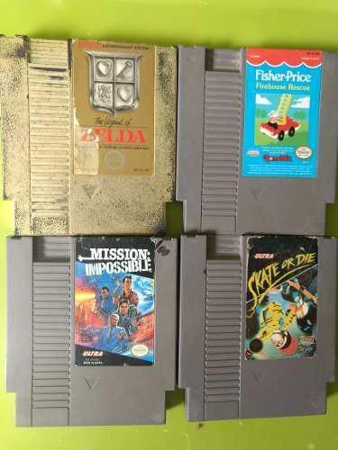 Zelda Nintendo Nes Videojuego Cartucho Garantía