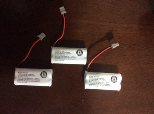 3 X Bateria Para Telefono Uniden Bt-1021 300 Mah