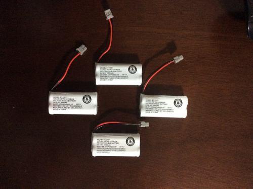 4 X Bateria Para Telefono Uniden Bt-1021 300 Mah
