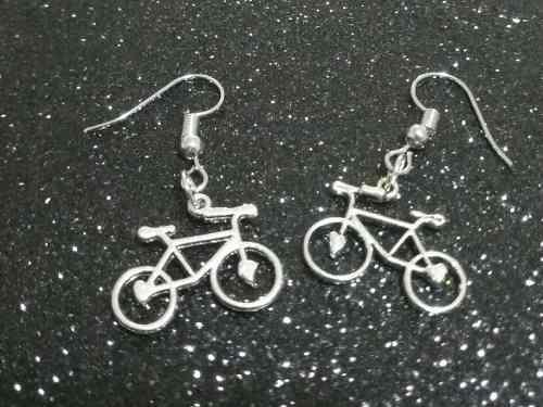 Aretes Bicicletas.