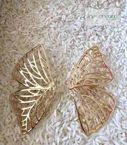 Aretes Mariposa Alas Moda