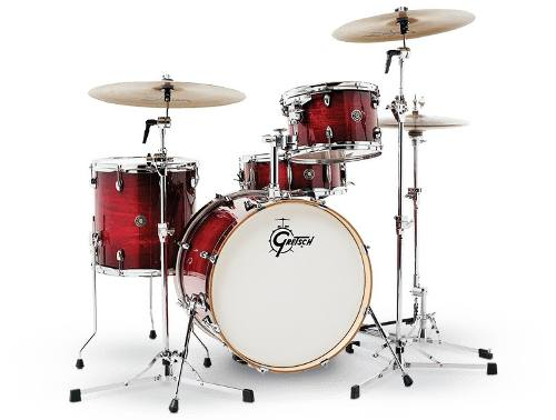 Bateria 4 Pzs Carmesi Burst Gretsch Catalina Club Ct1j404gcb
