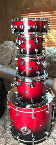 Bateria Pdp By Dw Mx Series Maple
